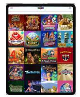 Spielautomaten im iPad Casino