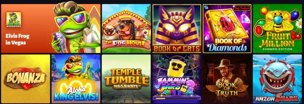 Casino Spiele per Handy