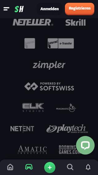 Slothunter Casino Mobile Einzahlungen in Schweizer
